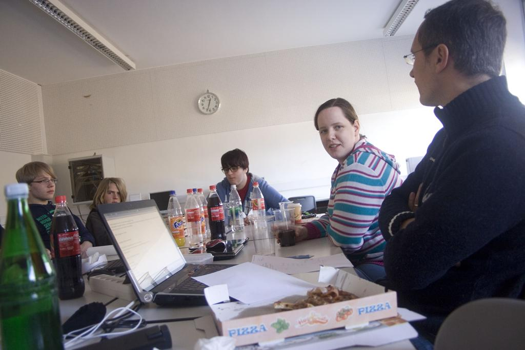 Website-Team-Treffen Februar 2012