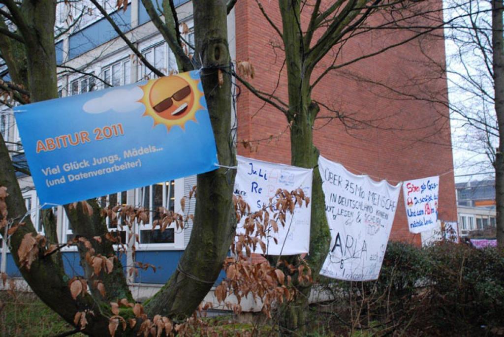 Abi Transparente Und Plakate 2018 Friedrich List Schule