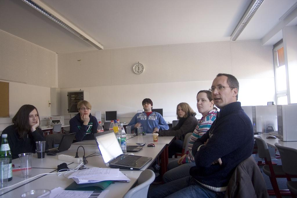 2. Website-Team-Treffen Februar 2012