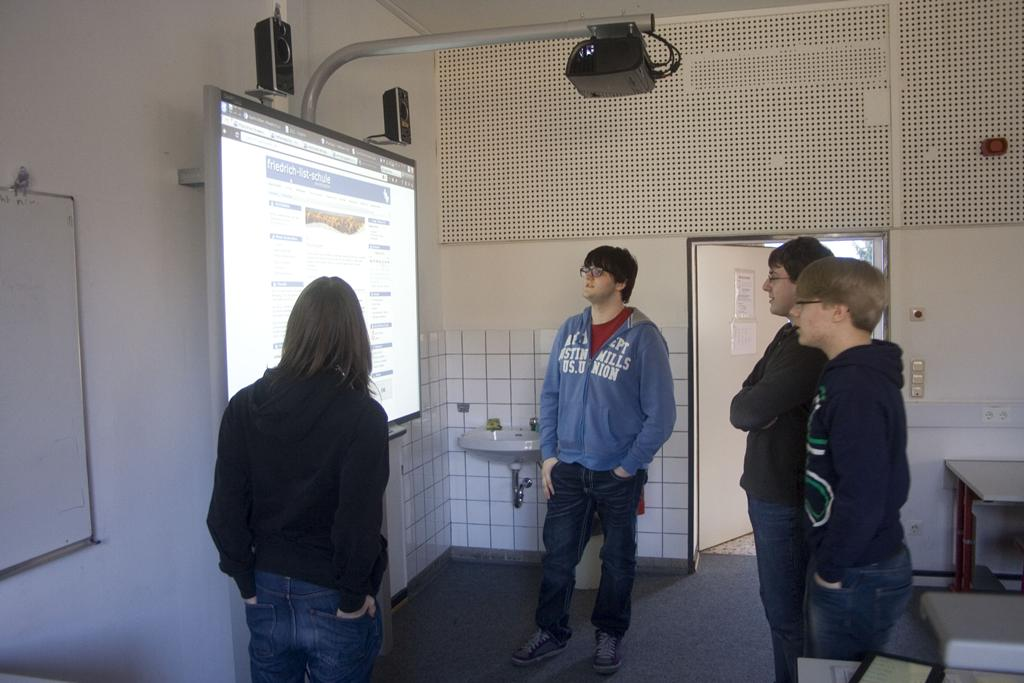 4. Website-Team-Treffen Februar 2012