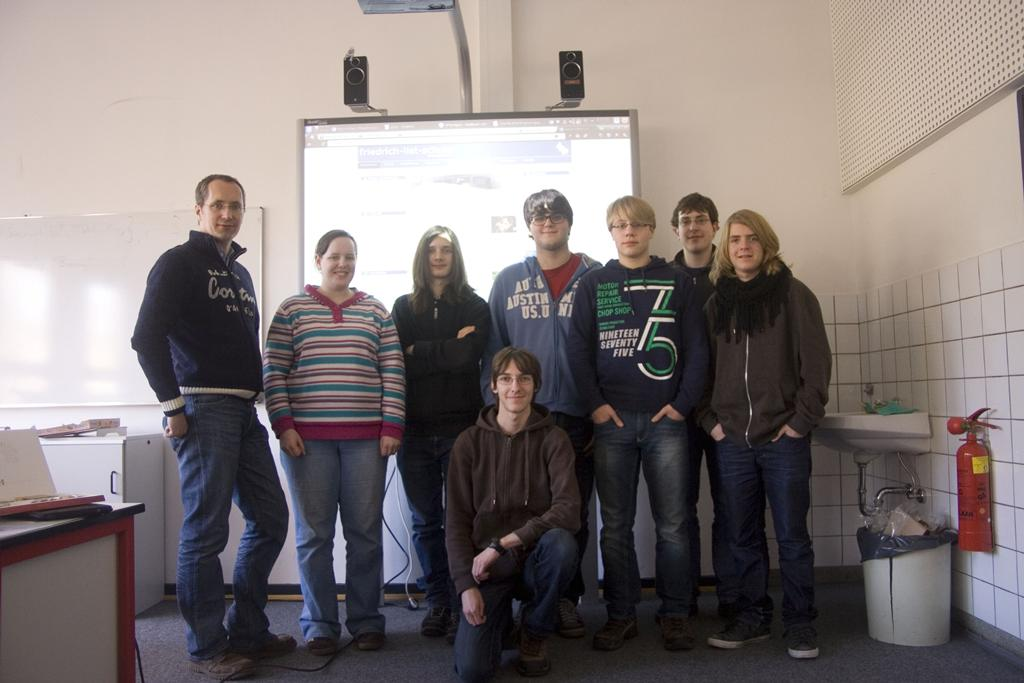 1. Website-Team-Treffen Februar 2012